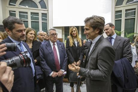 Inaugurato il nuovo reparto pediatrico del Policlinico Umberto I con il contributo di Fondazione Ginevra Caltagirone