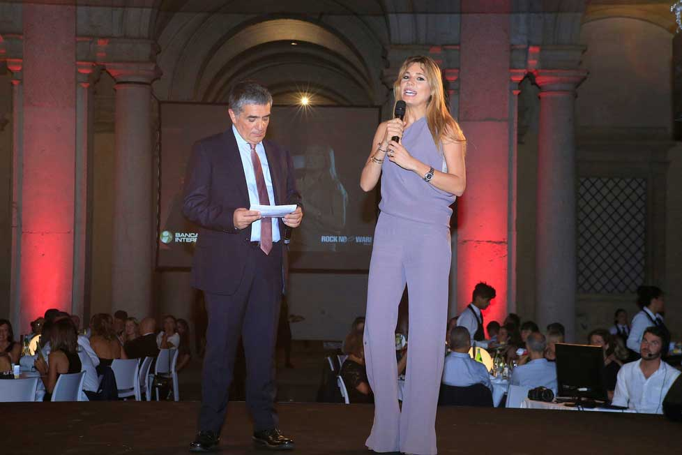 Fondazione Ginevra Caltagirone al Gala di beneficenza 2017 in Accademia a Modena insieme a Rock no War!