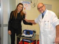 Consegna ufficiale del Defibrillatore Pediatrico
